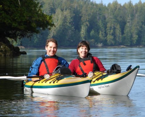 Team Building Retreats in Canada kayaking