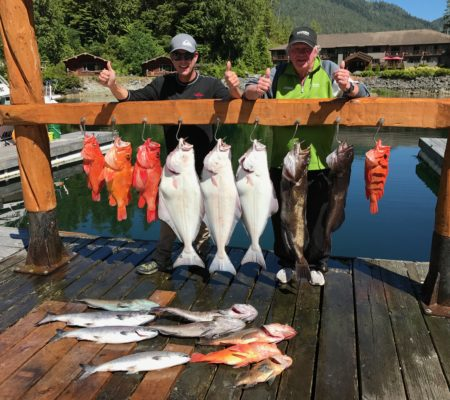 Corporate Retreats fly in fishing Canada