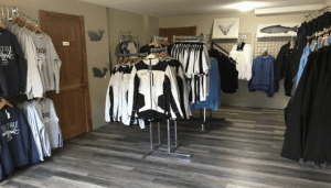 eagle nook resort gift shop - lucky sportfishing clothing line